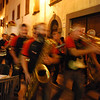 Same marching band, later in the evening.  They were actually very good!