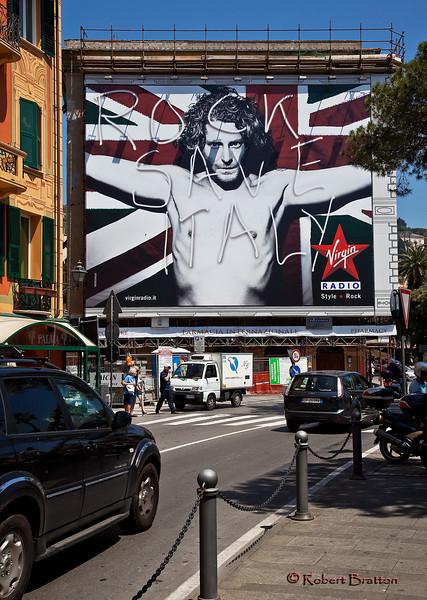Billboard in the Town of St. Margherita Ligure