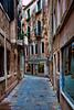 Deserted Street in Venice