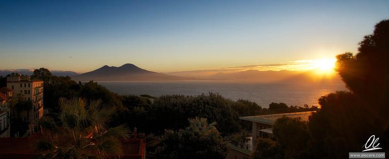 The Gulf at sunrise