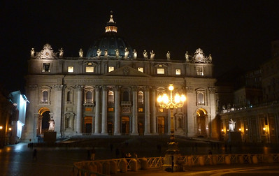 Rome St. Peters Exterior Jan11