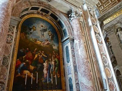 Rome St. Peters Interior Jan11