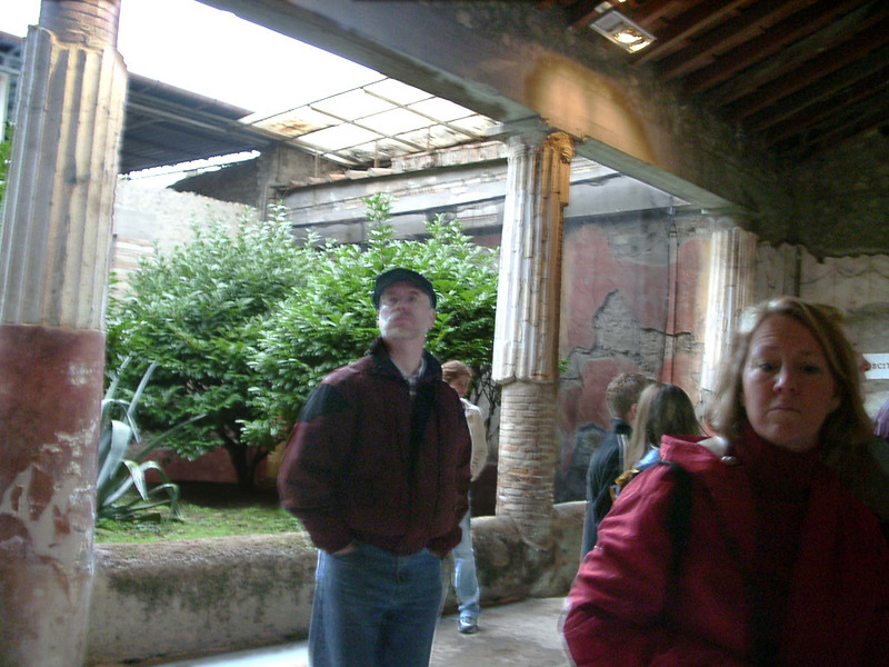 Ben and Betty Jo in Italy Spring 2004