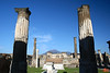 The remains of the Temple of Apollo with Mt Vesuvius in the background.<br /> IMG_1066.JPG