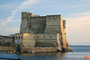 Castel dell'Ovo is the oldest fortification in Naples. This was taken on a horse-drawn buggy ride on Christmas eve.<br /> IMG_1116.JPG