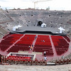 Verona, the inside of the Arena