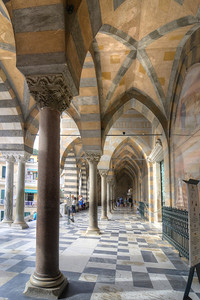 Amalfi Cathedral - St Andrew's - is a 9th-century Roman Catholic structure in the Piazza del Duomo