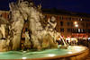 Fontana dei Quattro Fiumi  in the Piaza Navona.  That's the Fountain of the Four Rivers