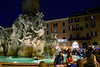 Fontana dei Quattro Fiumi  in the Piaza Navona.  That's the Fountain of the Four Rivers