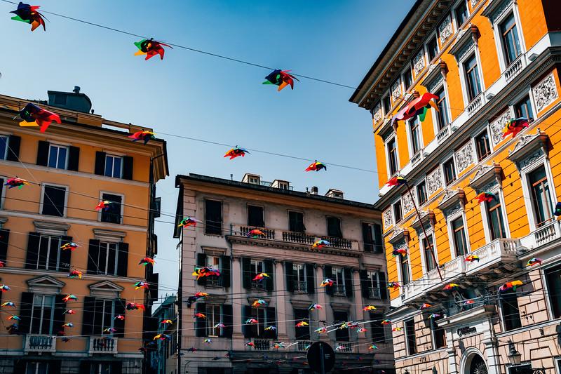Genova Piazza Giorgo Labo