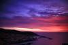 Italy-Sardinia   Sunset at Castelsardo