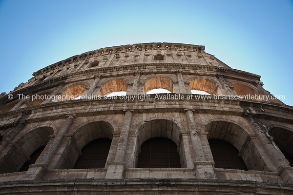 The Colosseum, Rome. Italian images.