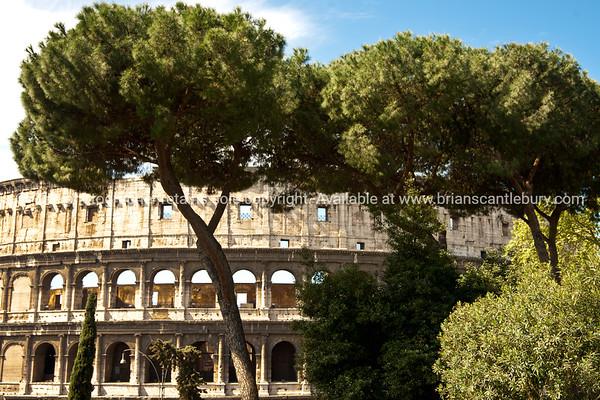 Rome Colosseum. Italian images.