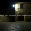Inside Abbadia at night. Italian images.