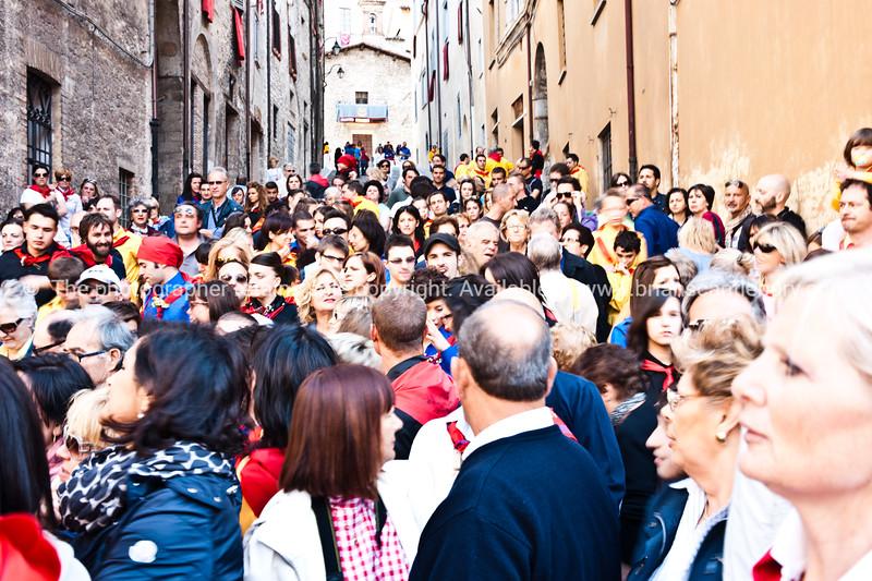 "Umbria, Italy, Gubbio on annually May 15 celebrates Festa dei Ceri.<br /> Umbria, Italy. SEE ALSO:    <a href=""http://www.blurb.com/b/2322683-spqr-italy"">http://www.blurb.com/b/2322683-spqr-italy</a> and  <a href=""http://www.blurb.com/b/2314371-gubbio-medieval-italy"">http://www.blurb.com/b/2314371-gubbio-medieval-italy</a>"