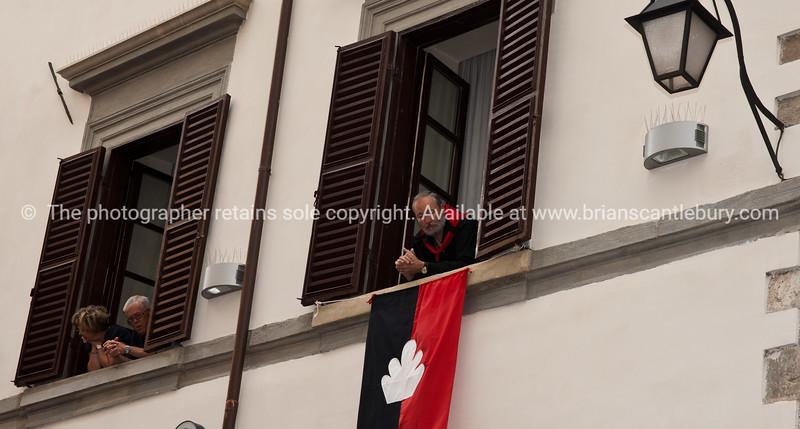 "Umbria, Italy, Gubbio on annually May 15 celebrates Festa dei Ceri.<br /> Umbria, Italy.<br /> v SEE ALSO:    <a href=""http://www.blurb.com/b/2322683-spqr-italy"">http://www.blurb.com/b/2322683-spqr-italy</a> and  <a href=""http://www.blurb.com/b/2314371-gubbio-medieval-italy"">http://www.blurb.com/b/2314371-gubbio-medieval-italy</a>"