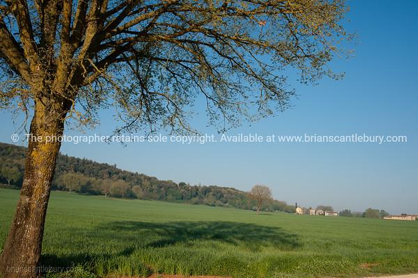Tuscan landscape. Italian images.