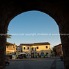 Looking through the entrance arch of the historic abbey,Looking through the entrance arch of the historic abbey,Looking through the entrance arch of the historic abbey,Looking through the entrance arch of the historic abbey. Italian images.