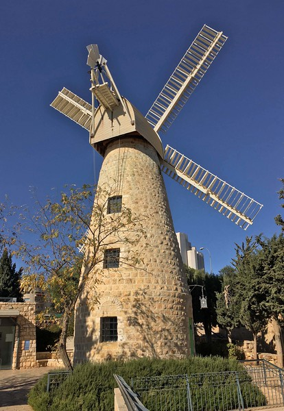 Montefiore Windmill, built as a flour mill in 1857