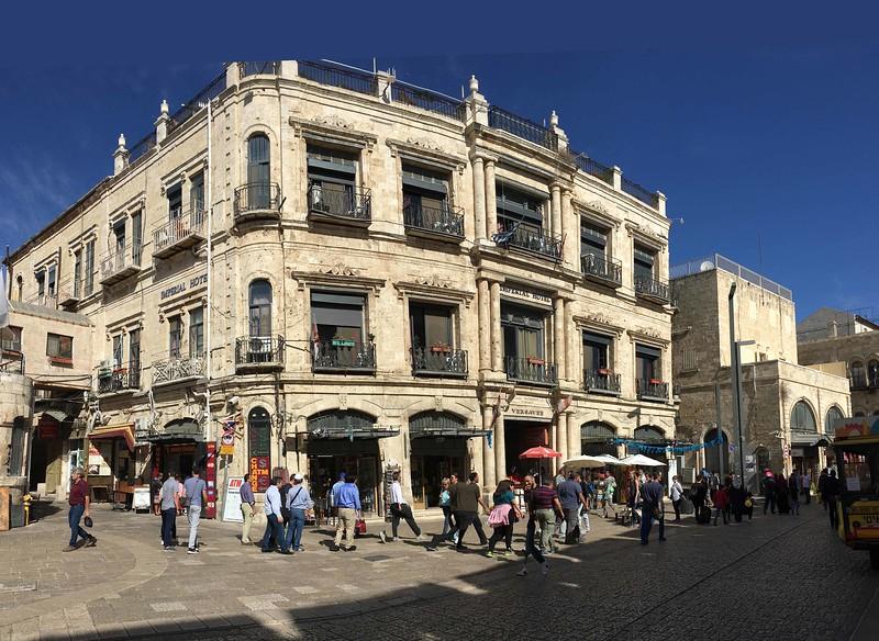 Greek Catholic Patriarchate road, Jaffa Gate Square
