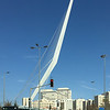 Entering Jerusalem: The Chords railway bridge by Santiago Calatrava