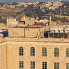 Jerusalem, looking east from YMCA bell tower