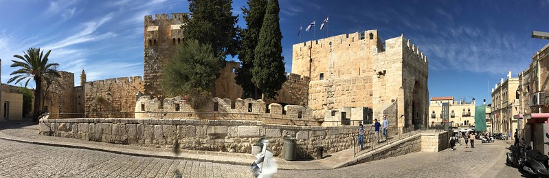 Tower of David Museum, inside the city walls