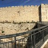 Panorama of the western walls of the Old City