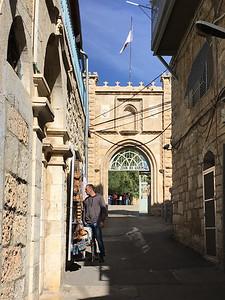 Gateway to St. John ba Harim
