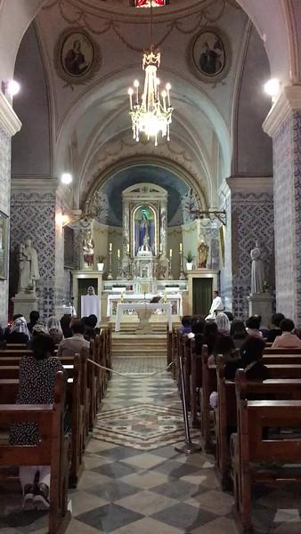 Filipino mass at St. John ba Harim. Click to play 23-second video