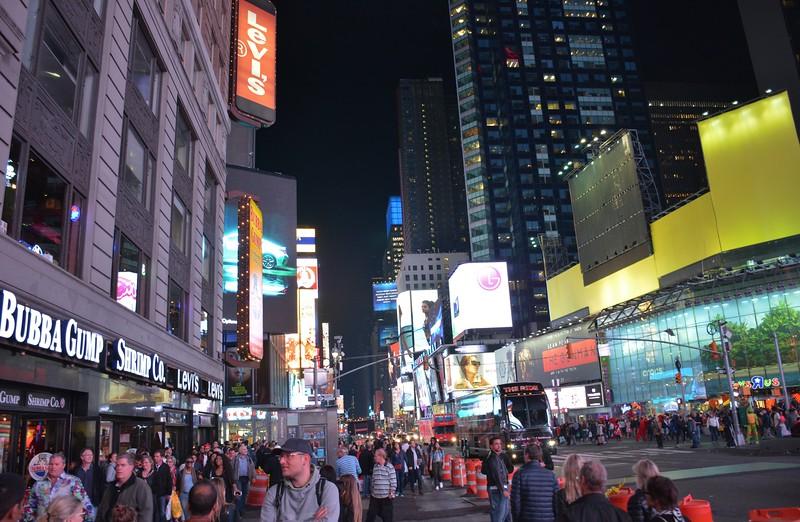 Walking down Broadway