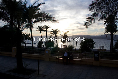 AQABA, Jordan sunset.