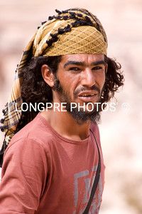 A Petra camel wrangler.