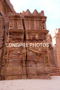 Old PETRA carved temple.