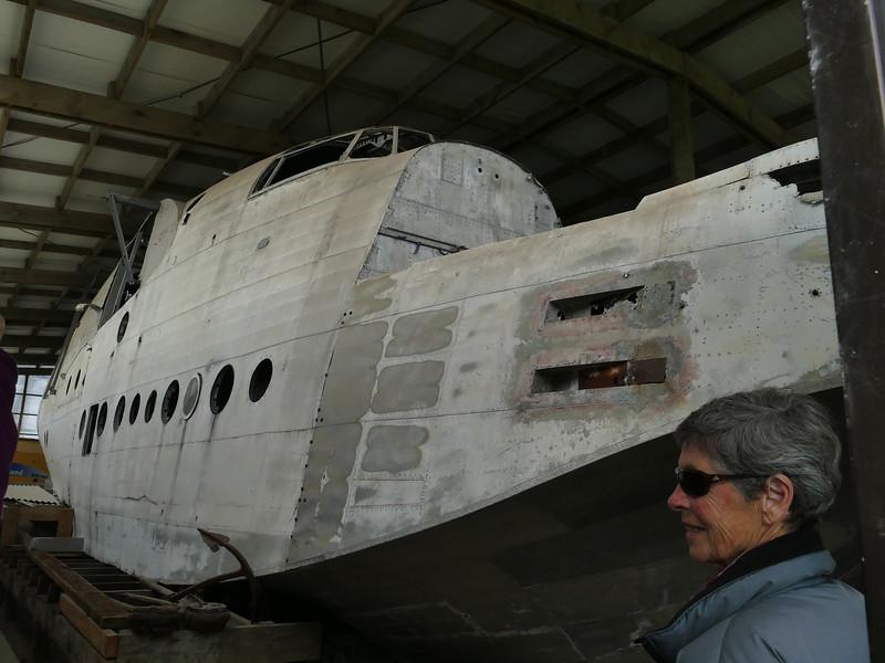 Sunderland flying boat (wrecked 1959)