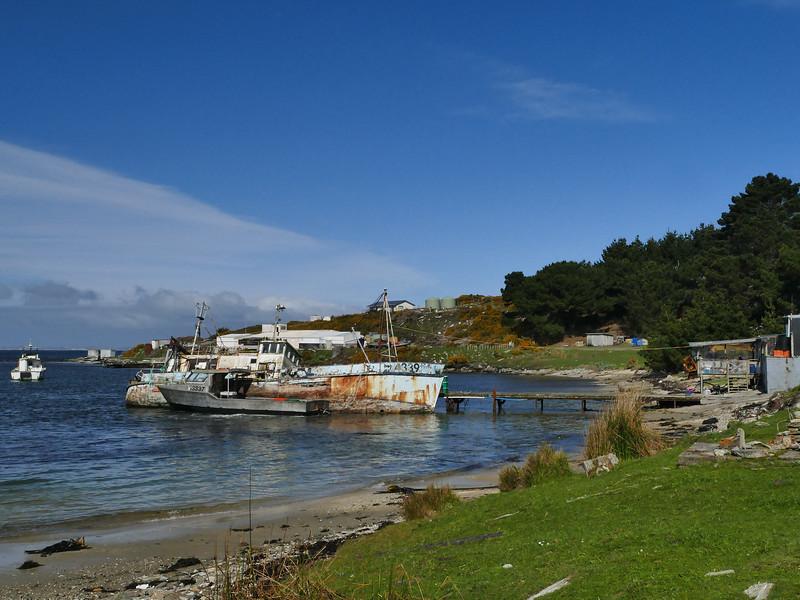 "Wreck of ""Thomas Currell"", Port Hutt"