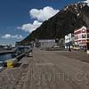 Downtown Juneau board walk