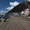 Downtown Juneau boardwalk.
