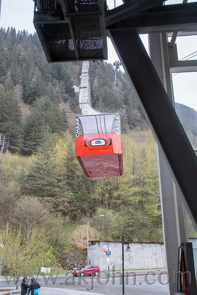 Roberts tram way in Juneau.