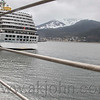 Cruise ship in Juneau harbor.