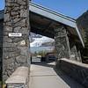 Mendenhall Glacier and visitor center.