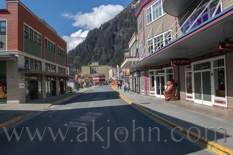 Downtown Juneau.