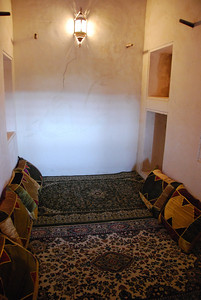 One of the smaller majlis rooms.