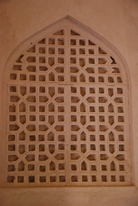 Decorative patterns in the Imam's majlis.