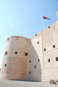 Jabrin Castle was built in 1675 under the direction of Imam Bila'rab bin Sultan.  Restoration of the castle started in 1983 and continues.