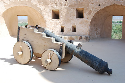 Cannon in one of the towers.