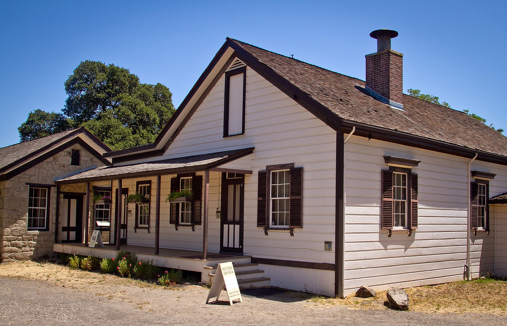 London's cottage at Jack London State Park in Glen Ellen, Calif., is seen on Friday, July 13th, 2012.