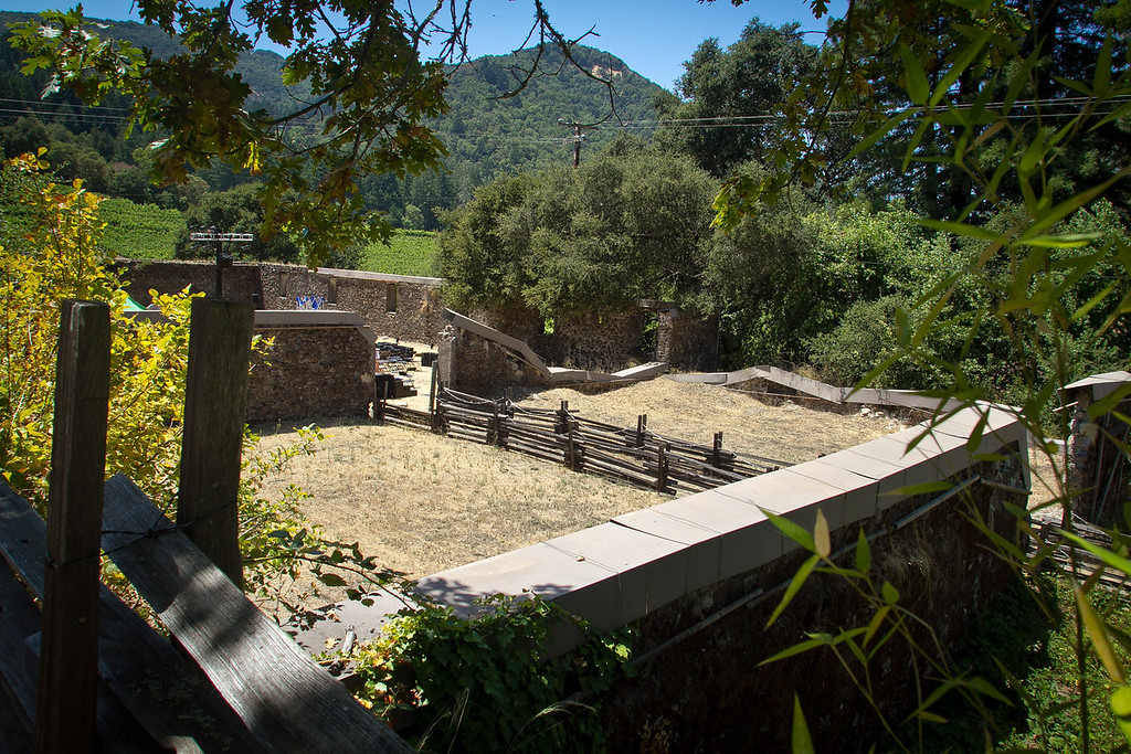 The winery ruins at Jack London State Park in Glen Ellen, Calif., is seen on Friday, July 13th, 2012.