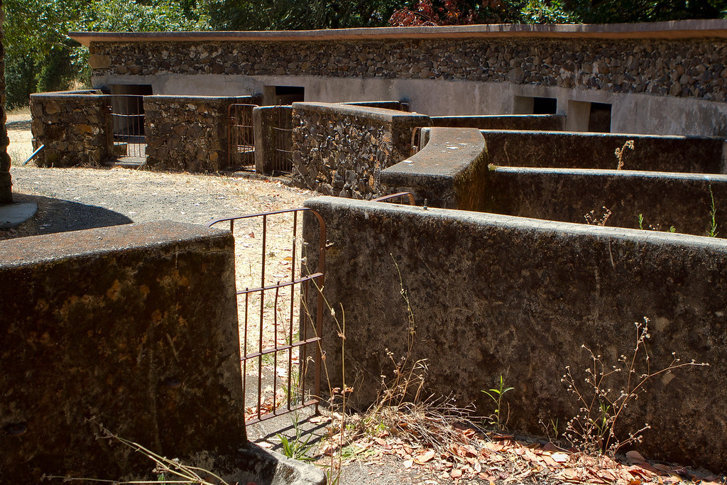 The Pig Palace at Jack London State Park in Glen Ellen, Calif., is seen on Friday, July 13th, 2012.