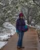 Jacki at El Morro National Monument